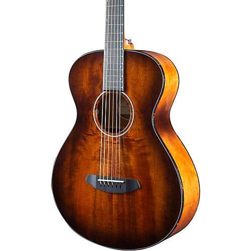 Breedlove Pursuit Exotic Concert Acoustic-Electric Guitar Bourbon Burst