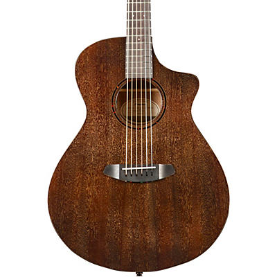 Breedlove Pursuit Exotic Concert Chocolate Box CE Mahogany-Mahogany Acoustic-Electric Guitar