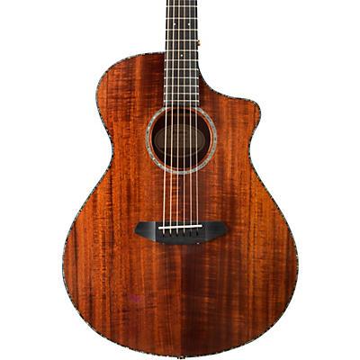 Breedlove Pursuit Exotic Concert Cutaway CE Koa Acoustic-Electric Guitar