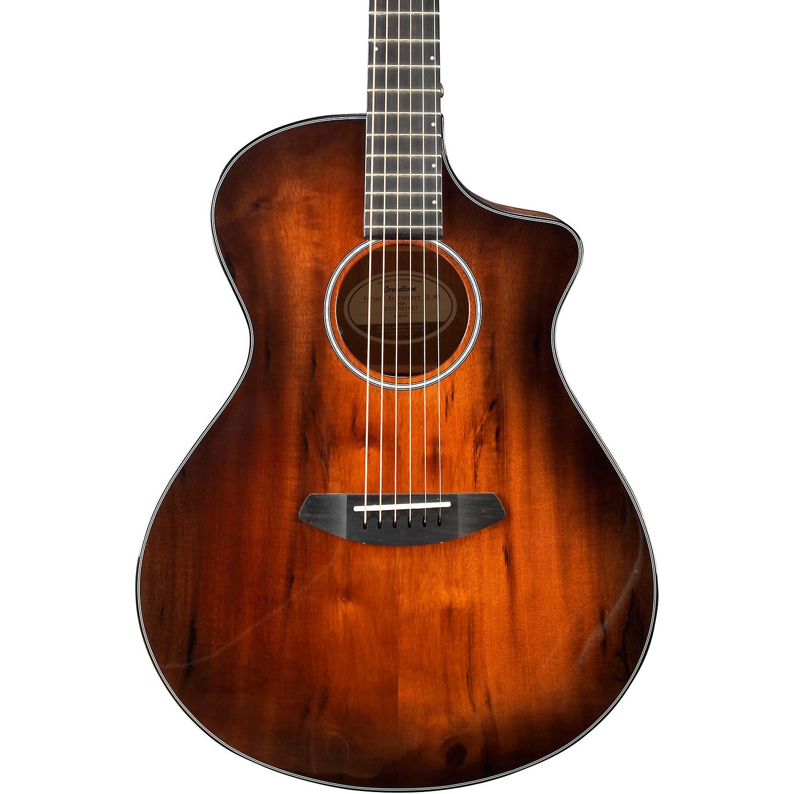 Breedlove Pursuit Exotic Concert Cutaway CE Myrtlewood Acoustic-Electric Guitar