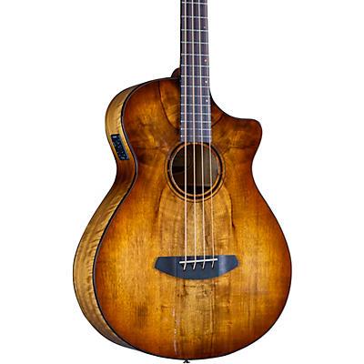 Breedlove Pursuit Exotic S CE Concerto Acoustic-Electric Bass
