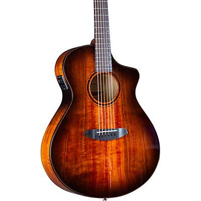 Breedlove Pursuit Exotic S CE Myrtlewood Concert Acoustic-Electric Guitar