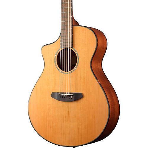 Breedlove Pursuit Left-Handed Concert Cutaway CE Acoustic-Electric Guitar Natural