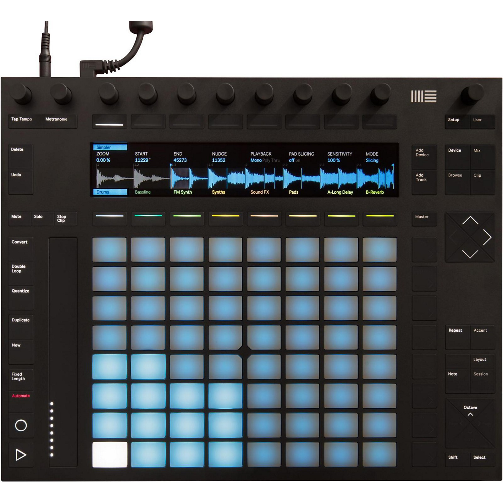 Ableton Push 2 Software Controller Instrument with Live Intro