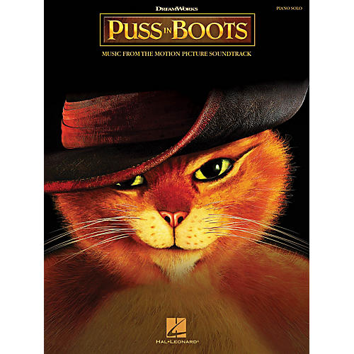 Hal Leonard Puss In Boots: Music From The Motion Picture Soundtrack - Piano Solo Songbook