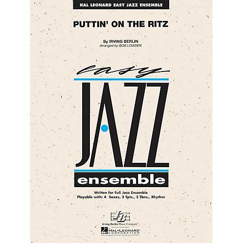 Hal Leonard Puttin' on the Ritz Jazz Band Level 2 Arranged by Les Hooper