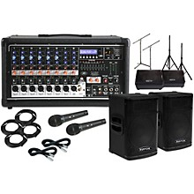 "Peavey Pvi8500 with KPX115 15"" Speaker and 12"" Monitor Package"