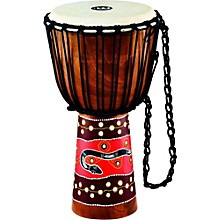 Open Box Meinl Python Series Rope Tuned Mahogany Djembe