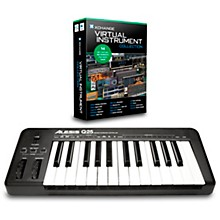 Q25 25-Key MIDI Keyboard Controller Packages Virtual Instrument Package