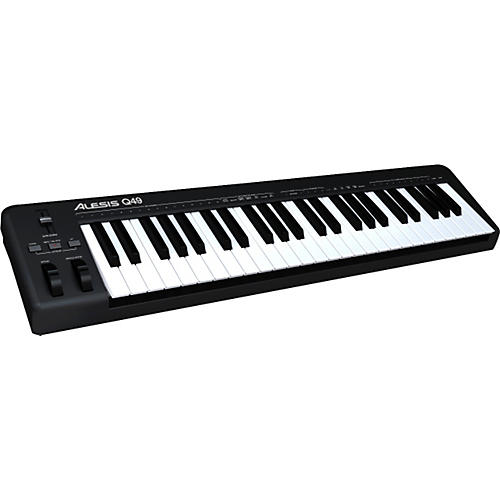 alesis q49 usb midi keyboard controller musician 39 s friend. Black Bedroom Furniture Sets. Home Design Ideas