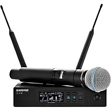 QLX-D Digital Wireless System with Beta 58 Microphone Band H50