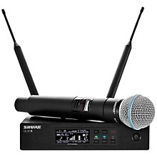 QLX-D Digital Wireless System with Beta 58 Microphone Band X52