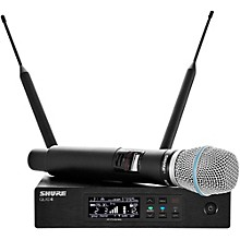 QLX-D Digital Wireless System with Beta 87A Condenser Microphone Band X52