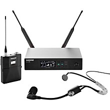 Shure QLX-D Digital Wireless System with SM35 Condenser Headset Microphone