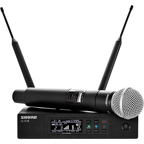 Shure QLX-D Digital Wireless System with SM58 Dynamic Microphone