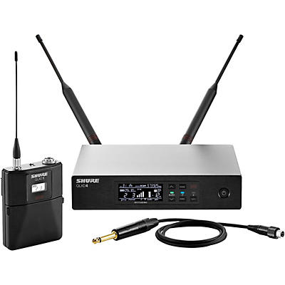 Shure QLX-D14 Wireless System with QLXD1 Bodypack and QLXD4 Receiver