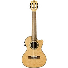 Open Box Lanikai QM-CET Quilted Maple Tenor with Kula PreampAcoustic Electric Ukulele