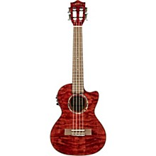 Lanikai QM-CET Quilted Maple Tenor with Kula PreampAcoustic Electric Ukulele