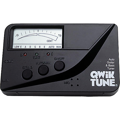 Bass guitar: how to use qwik tune auto guitar & bass tuner free.