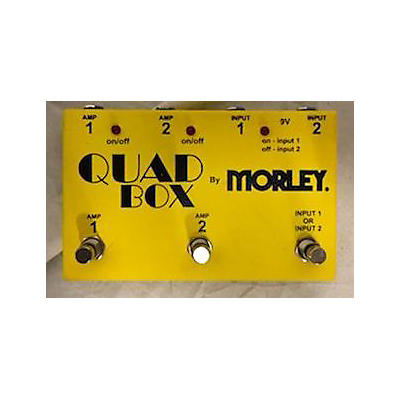 Morley QUAD BOX Pedal