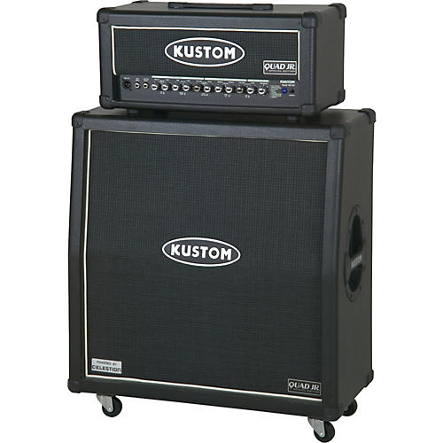 Kustom QUAD JR. 100W Half Stack Guitar Amplifier