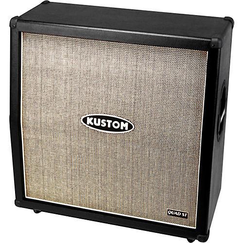 Kustom Quad St 412 A 260w 4x12 Guitar Speaker Cabinet
