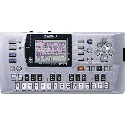 Yamaha QY100 Sequencer Accompaniment Tool