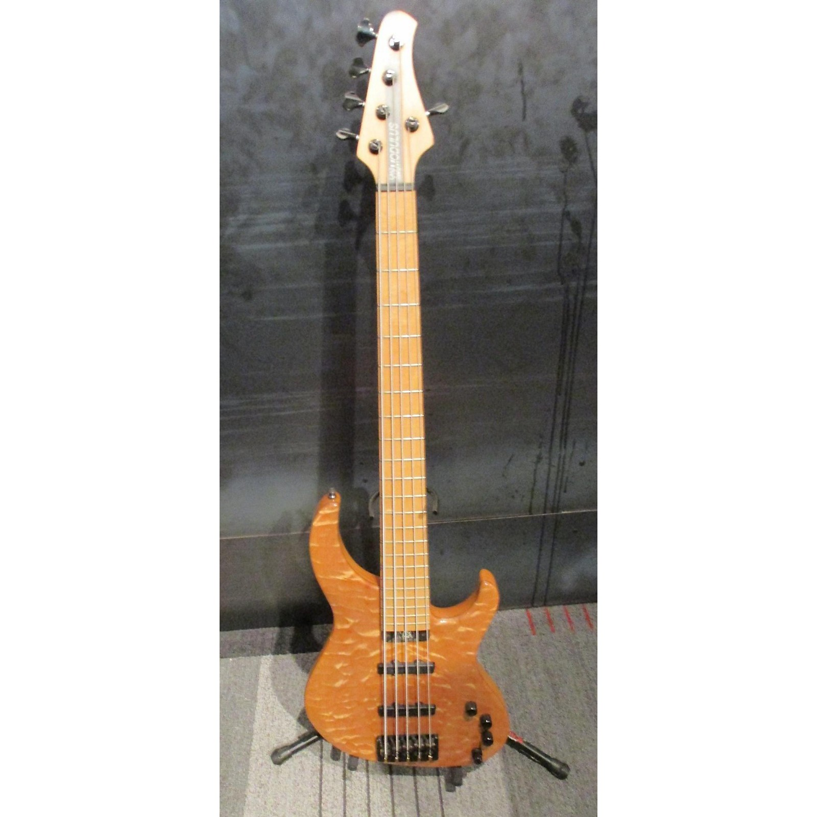 Modulus Guitars Qm5 Electric Bass Guitar