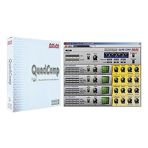 Akai Professional Quad Comp Compressor/Expander VST Plug-In