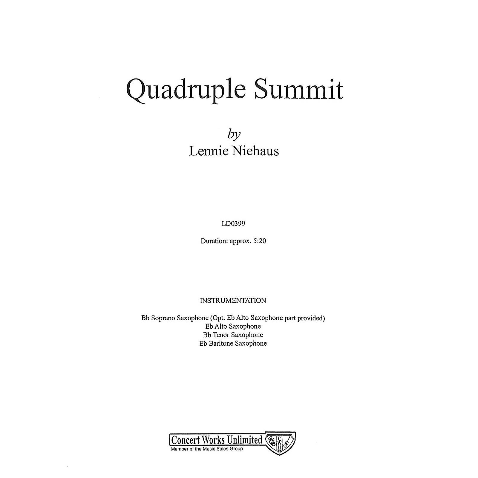 Hal Leonard Quadruple Summit Saxophone