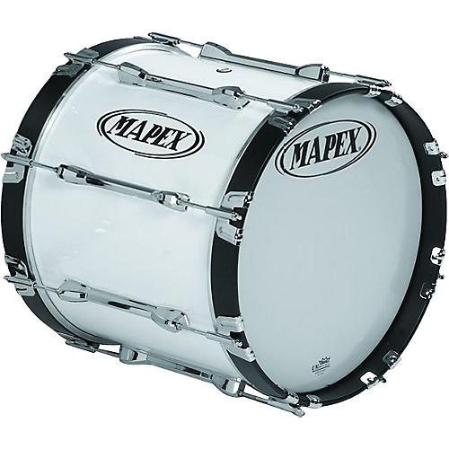 Mapex Qualifier Bass Drum Snow White 16 x 14 in.