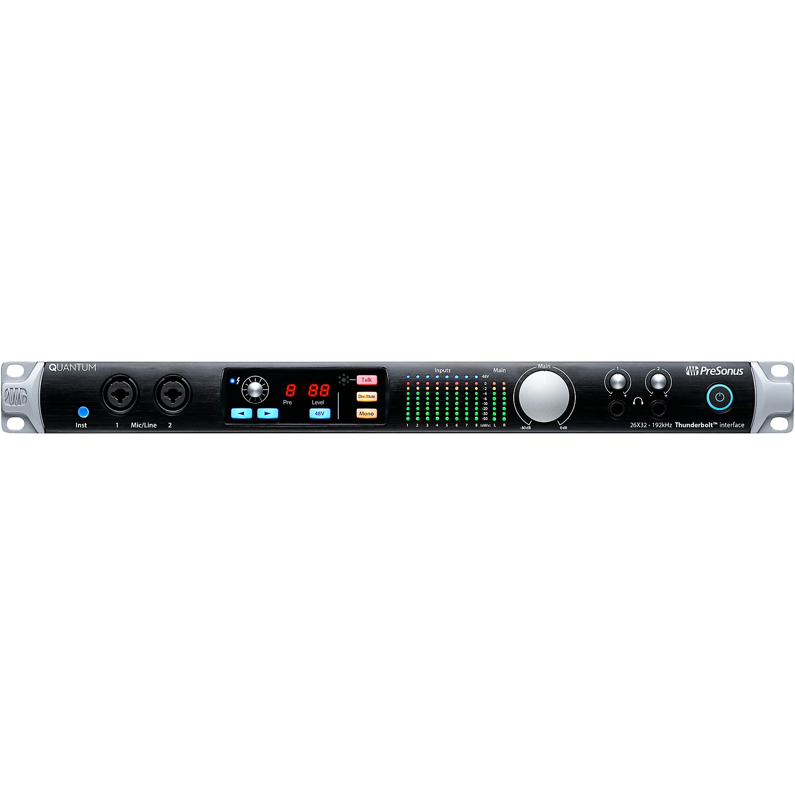 PreSonus Quantum 26x32 Thunderbolt 2 Audio Interface/Studio Command Center