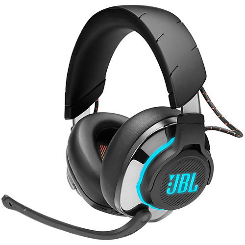 JBL Quantum 800 Gaming - 2.4 Ghz + BT Wireless Noise Cancelling Over-Ear Headset Black