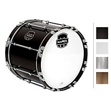 Quantum Bass Drum 18 x 14 in. Grey Steel/Gloss Chrome Hardware