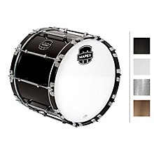 Quantum Bass Drum 20 x 14 in. Grey Steel/Gloss Chrome Hardware