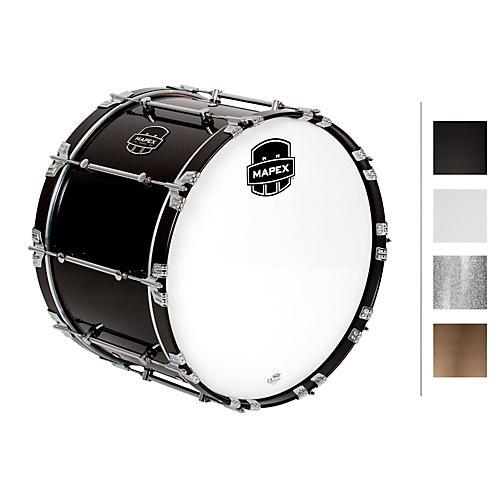 mapex quantum bass drum 22 x 14 in gloss black gloss chrome hardware musician 39 s friend. Black Bedroom Furniture Sets. Home Design Ideas