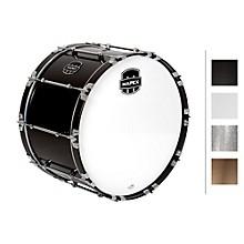 Quantum Bass Drum 24 x 14 in. Grey Steel/Gloss Chrome Hardware