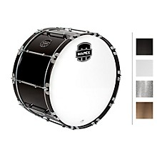 Quantum Bass Drum 26 x 14 in. Grey Steel/Gloss Chrome Hardware
