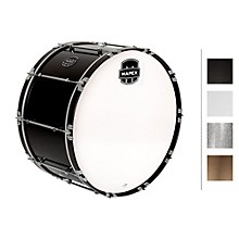 Quantum Bass Drum 30 x 16 in. Grey Steel/Gloss Chrome Hardware