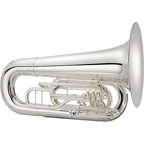 Jupiter Quantum MKII BBb Marching Tuba Silver