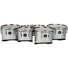 Quantum Mark II California Cut Sextet Tenors 6, 6, 8, 10, 12, 13 in. Silver Diamond Dazzle