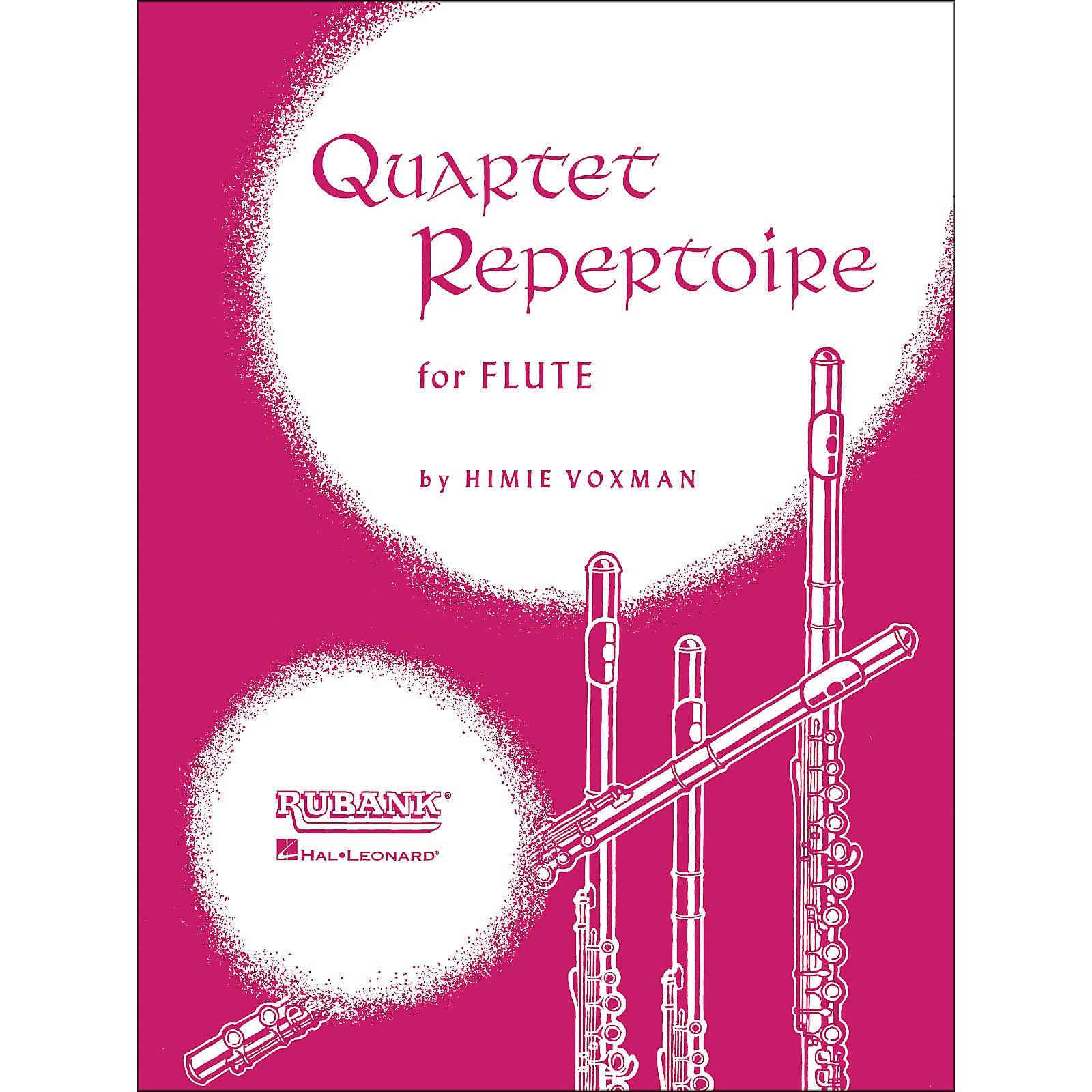 Hal Leonard Quartet Repertoire for Flute (Fourth Flute)