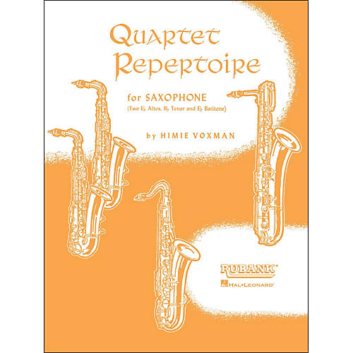 Hal Leonard Quartet Repertoire for Saxophone First Eb Alto