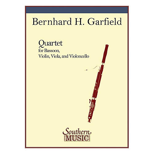 Southern Quartet (String Trio with Bassoon) Southern Music Series Composed by Bernard Garfield