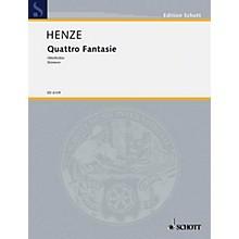 Schott Quattro Fantasie 8 Mvts Parts Schott Series