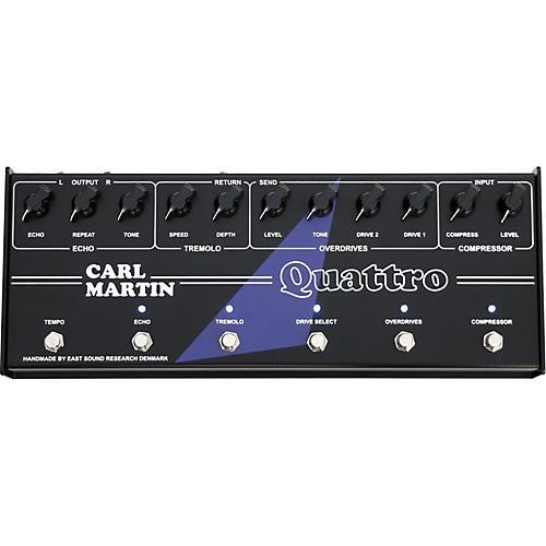 Carl Martin Quattro Guitar Multi Effects Pedal