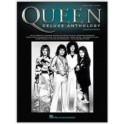 Hal Leonard Queen - Deluxe Anthology (Updated Edition) Piano/Vocal/Guitar Songbook