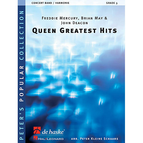 De Haske Music Queen - Greatest Hits Concert Band Level 4 by Queen Arranged by Peter Kleine Schaars