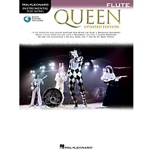Hal Leonard Queen - Updated Edition Flute Instrumental Play-Along Songbook Book/Audio Online