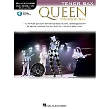 Hal Leonard Queen - Updated Edition Tenor Sax Instrumental Play-Along Songbook Book/Audio Online